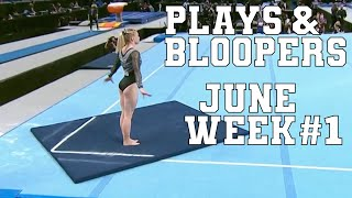 June Week #1 Top Plays & Bloopers in Sports | Highlights & Funny Moments
