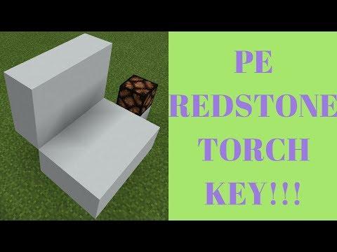 Minecraft PE Redstone Torch Key -Redstone 5