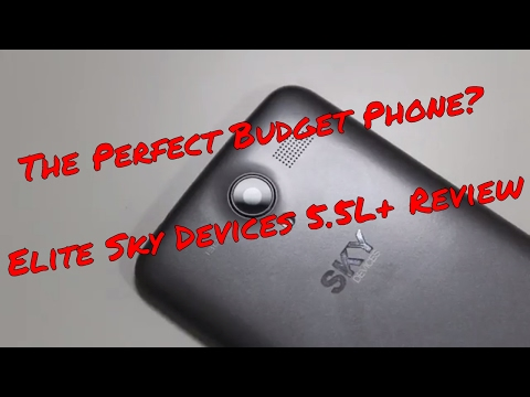 The Perfect Budget Phone? Check Out The Sky Devices Elite 5.5 L+!