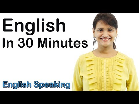 English Speaking Course for Beginners - English Speaking Tutorial