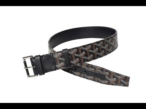 GOYARD BELT BLACK REVIEW