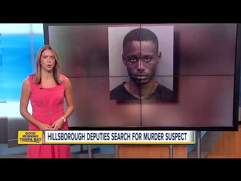 HCSO: Search underway for man accused of murder