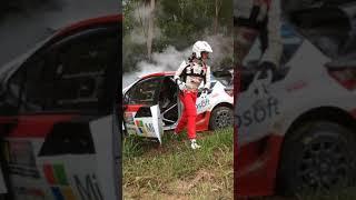 Latvala Crash - 2017 WRC Rally Australia