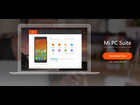 MI PC Suite for PC !! (FREE)