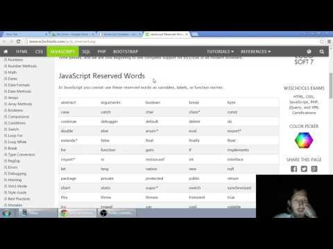 Web developerská škola, časť 12: JavaScript - Premenné, úvod