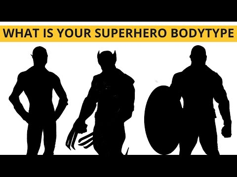 What is your Superhero Body-type? (Summer Challenge E02)