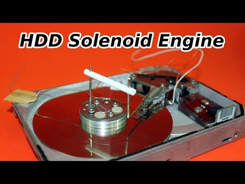 Hard Drive to Solenoid Engine Conversion