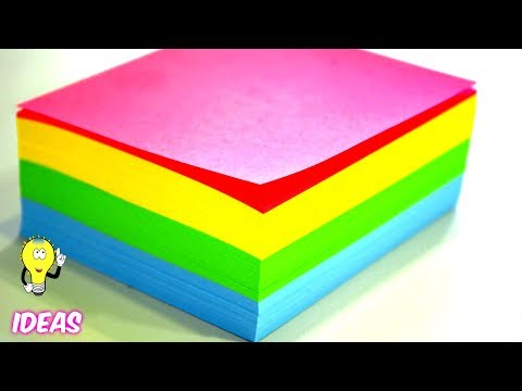 DIY Craft Ideas With Colored Paper  | EMMA DIY #42