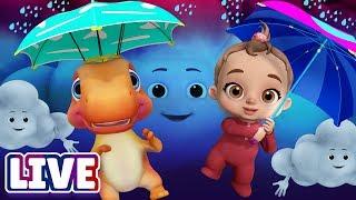 Rain Rain Go Away & Many More Baby Songs & 3D Nursery Rhymes by ChuChu TV – LIVE Stream