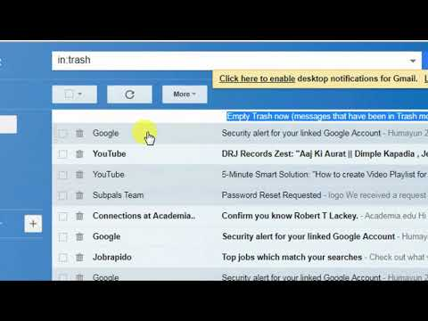 How to recover permanently deleted mail from gmail account(2018)