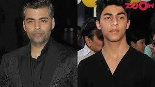 Aryan Khan to make Bollywood DEBUT with Karan Johar