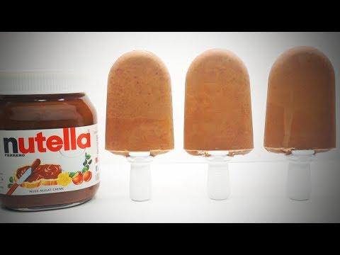 Homemade Nutella Milk Popsicles 🍧 DIY Popsicle Recipes [Tasty Food]