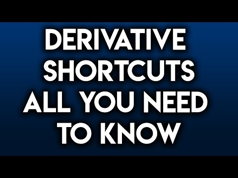 Derivative Shortcuts: All You Need to Know (Power/Product/Quotient/Chain/Trig/Exponential/Log/Rules)