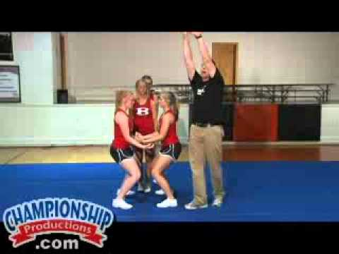 Basic Stunts, Dismounts and Transitions for Cheerleading