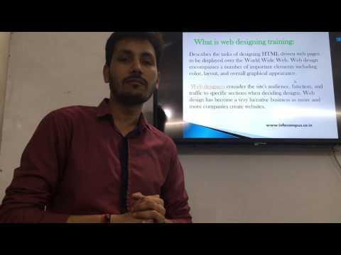 Web Designing Courses Details, Syllabus, Scope By Er Vinay Kumar Rai (Career Infowis Institute)