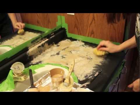Transforming/Painting Countertops - DIY!