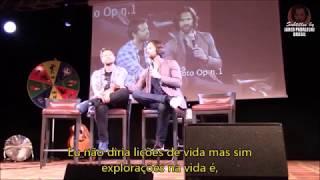 Lições de vida do Jared e Misha (JIB 2018)