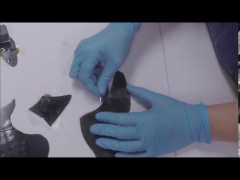 Glass repair w HXTAL yt