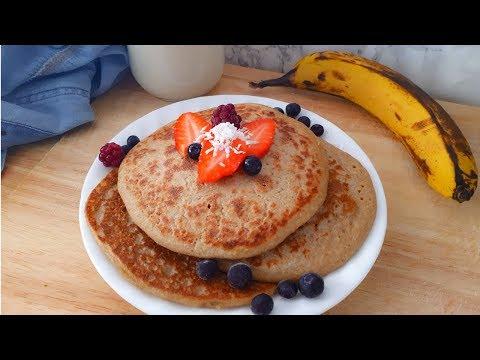 3 Ingredient Pancakes ~ Vegan & Gluten Free!