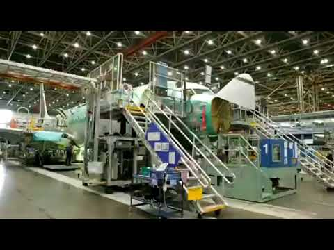 SEE HOW BOEING IS MAKING AIRPLANES-HOW ITS MADE-TIME LAPSE-BOEING !!!