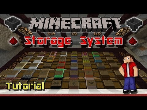How to build an Automatic Storage System in Minecraft! Works in 1.7 and 1.8!