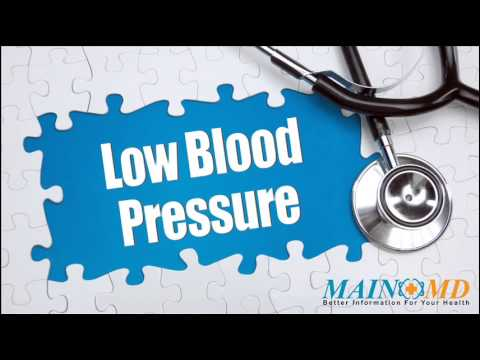 Low Blood Pressure ¦ Treatment and Symptoms