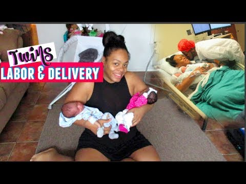 Twins Vaginal Labor & Delivery Story | My Water Broke At 35 Weeks!