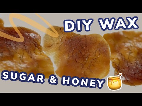 DIY Honey Sugar Wax | riadavidet
