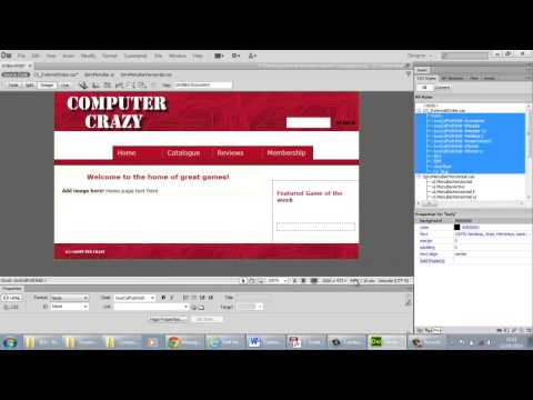 Dreamweaver - creating external style sheet