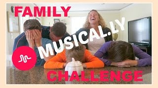 FAMILY MUSICAL.LY CHALLENGE | SURPRISE CHALLENGE | Flippin