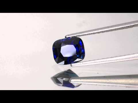 2.20-Carat Eye-Clean Royal Blue Sapphire from Madagascar (UH)
