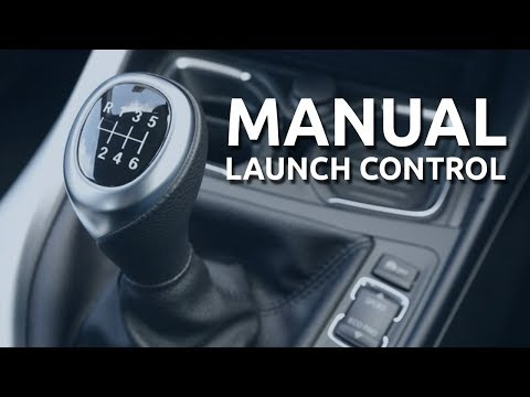 How to Launch a Car With a Manual Transmission (Manual Launch Control)