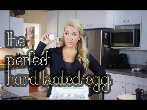 The Perfect Hard Boiled Egg | SUPER EASY TO PEEL