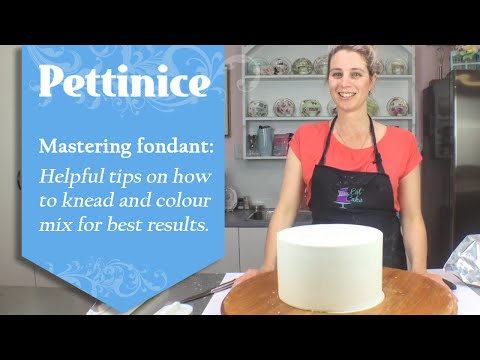Fondant 101: Sharp edges on your cake.  How to fix cracking or tearing that may happen.