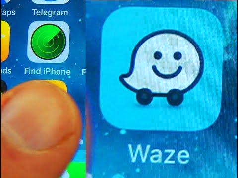 Deleting Waze history on iphone