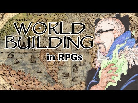 World Building in role playing games - RPG DM / GM Pro Tip