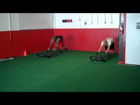 Sled Push Sprints - Football Speed Workout - Napa Strength Conditioning