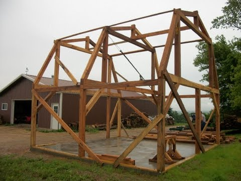 Timber Frame sawmill workshop