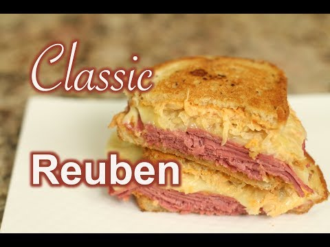 Classic Reuben Sandwich With Russian Dressing | Rockin Robin Cooks