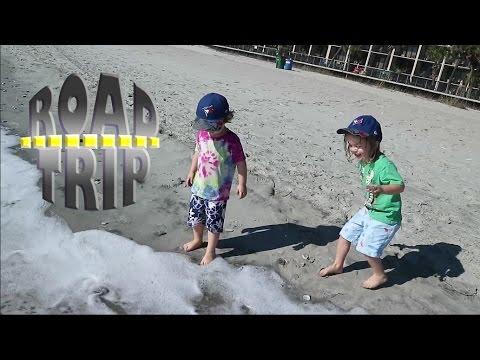 Myrtle Beach! Joe's First Ocean Visit