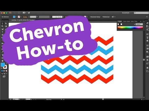 How To Make a Chevron Pattern in Adobe Illustrator