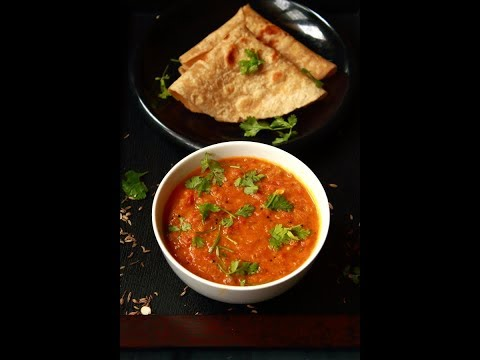 tomato kurma recipe, how to make thakkali kurma | tomato korma
