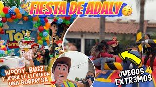 FIESTA DE TOY STORY DE ADALY 🥳 #AdalyStory2years Diana Estrada