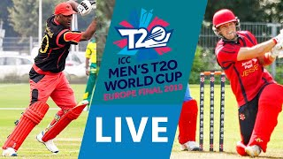 LIVE CRICKET - ICC Men's T20 World Cup Europe Final 2019 - Germany vs Jersey. Match start 15.45