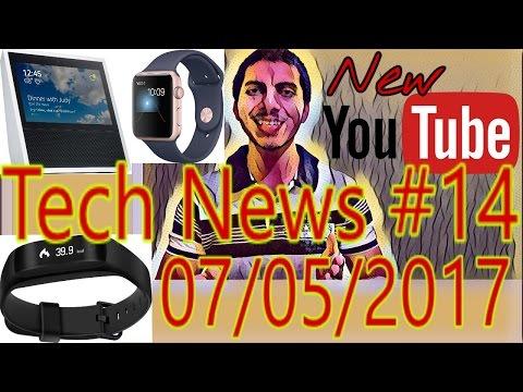[हिंदी]Tech News #14- New YouTube, New JIO Offer, Amazon Echo 2, Apple NO.1, Lenovo Launch...