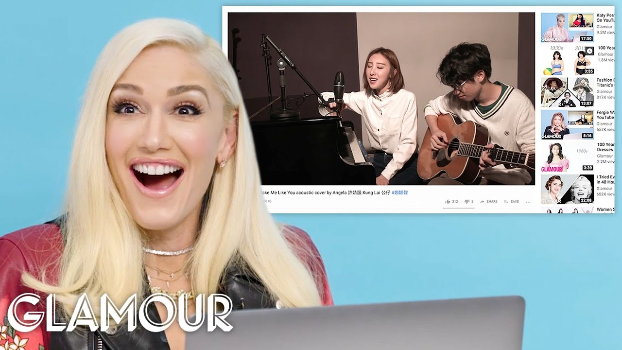 Gwen Stefani Watches Fan Covers on YouTube | Glamour