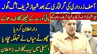 Shahbaz Sharif speech in Assembly after Zardari arrest   10 June 2019   Dunya News