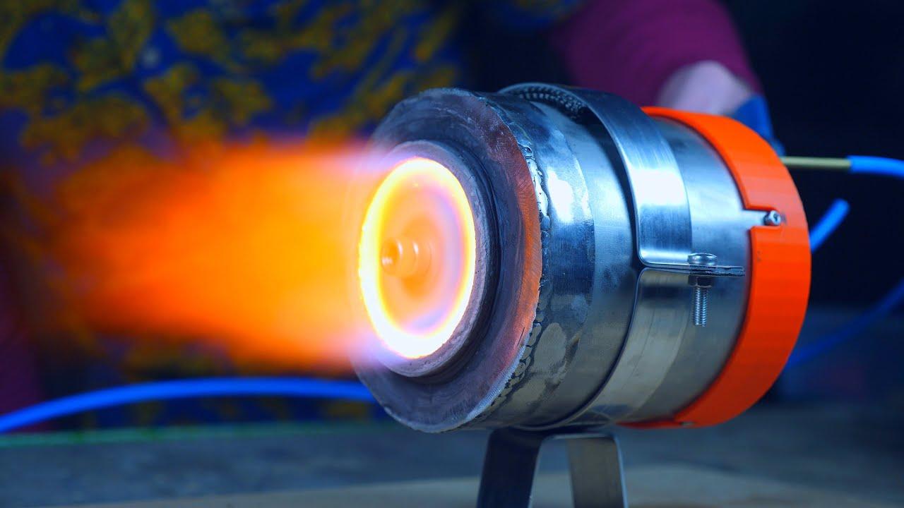 TurboJet Engine (3D Printed)