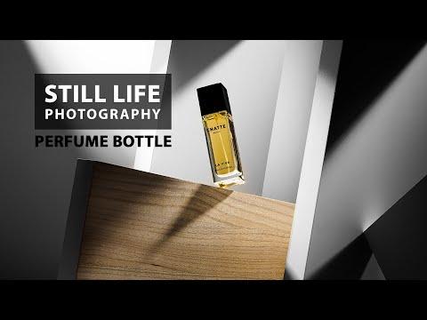 Perfume bottle - still life photography tutorial