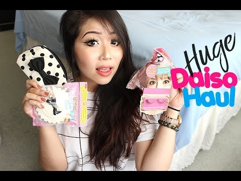 HUGE Daiso Haul: Makeup, Stationary, Food, & More! | JULY 2016